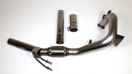 Forge Leon Golf DPF Delete 430x244 Forge Motorsport DPF Replacement Pipe For Golf 2 Litre Diesel