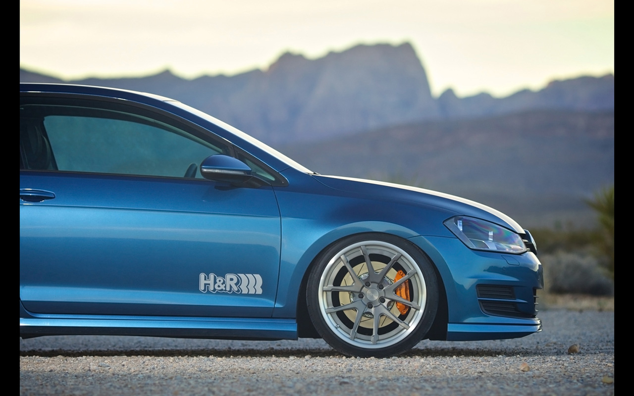 2015 h and r springs volkswagen golf 7 details 3 vw tuning mag. Black Bedroom Furniture Sets. Home Design Ideas