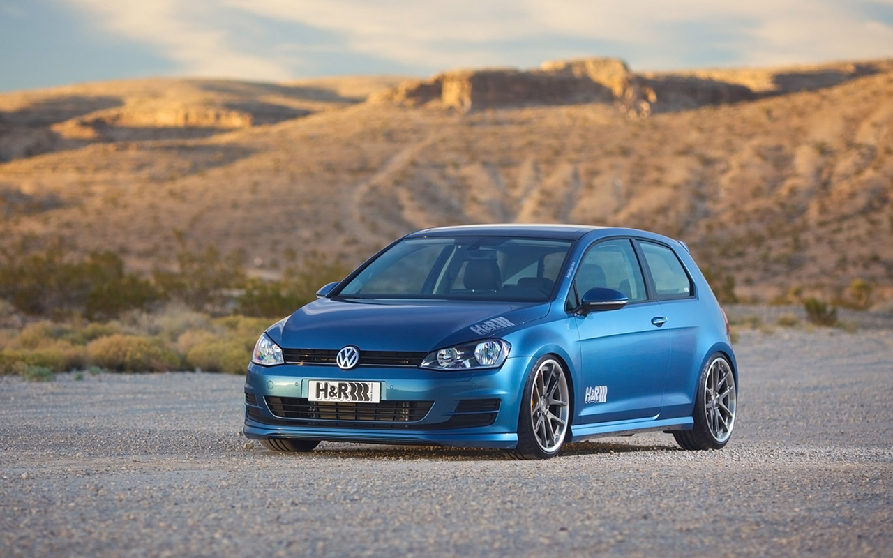 2015 h and r springs volkswagen golf 7 static 1 vw. Black Bedroom Furniture Sets. Home Design Ideas