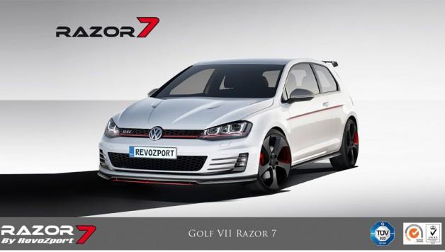 vw golf razor 7 1 628x356 VW Golf RAZOR 7