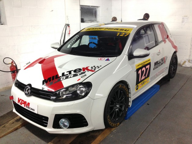 Milltek Dubai 24 Hr Golf1 628x471 Milltek Searches For VW Cup Superstar