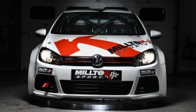 Milltek Time Attack Golf Front 280x161 Milltek Searches For VW Cup Superstar