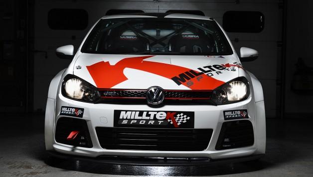 Milltek Time Attack Golf Front 628x356 Milltek Searches For VW Cup Superstar