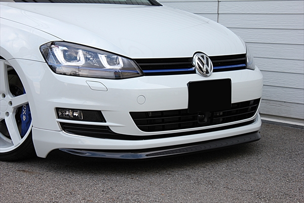 vw golf 7 alpil front bumper 1 vw tuning mag. Black Bedroom Furniture Sets. Home Design Ideas