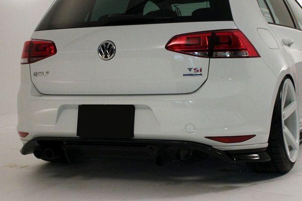 vw golf 7 alpil rear bumper 1 vw golf 7 alpil rear bumper 1
