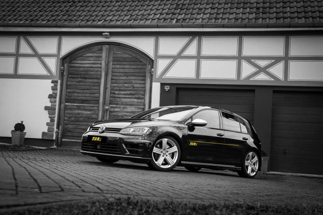 ST Golf 7 R Standaufnahme 628x418 Best performance for the street: VW Golf R Spacers and sports springs