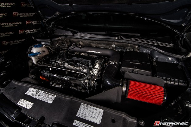 Uni GolfR 20 TFSI Cold Air Intake3 628x418 Unitronic Golf R 2.0 TFSI Cold Air Intake System