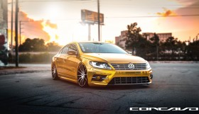 concavo wheels vw cc 2 280x161 Volkswagen CC R Line on Concavo Wheels