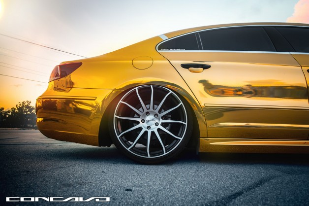 concavo wheels vw cc 6 628x418 Volkswagen CC R Line on Concavo Wheels