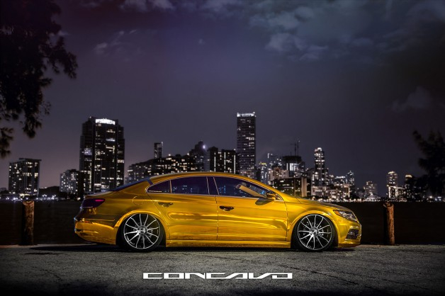 concavo wheels vw cc 8 628x418 Volkswagen CC R Line on Concavo Wheels