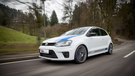 low KW Polo VI R WRC Fahraufnahme 01 430x244 KW Coilovers for the new VW Polo R WRC available