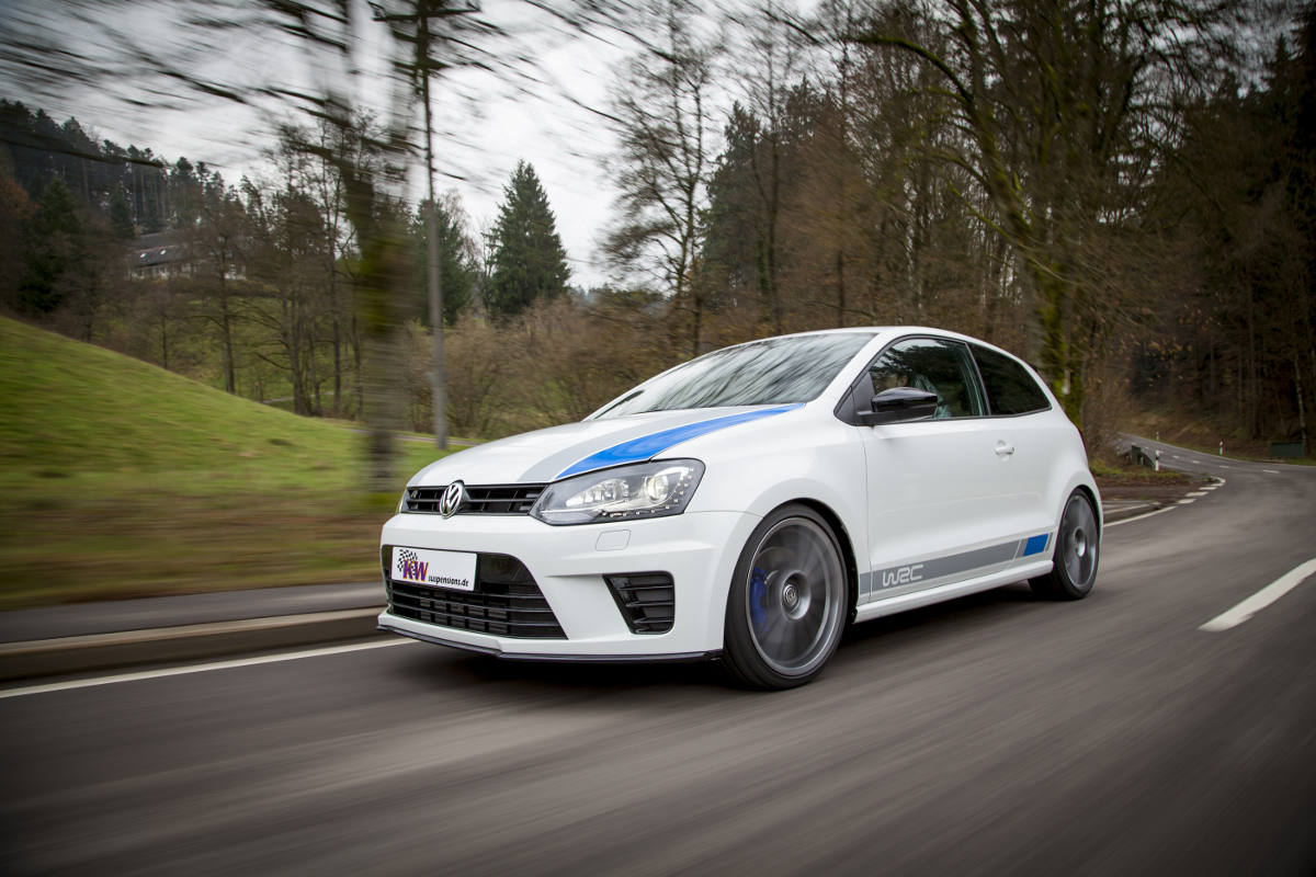 Kw Coilovers For The New Vw Polo R Wrc Available