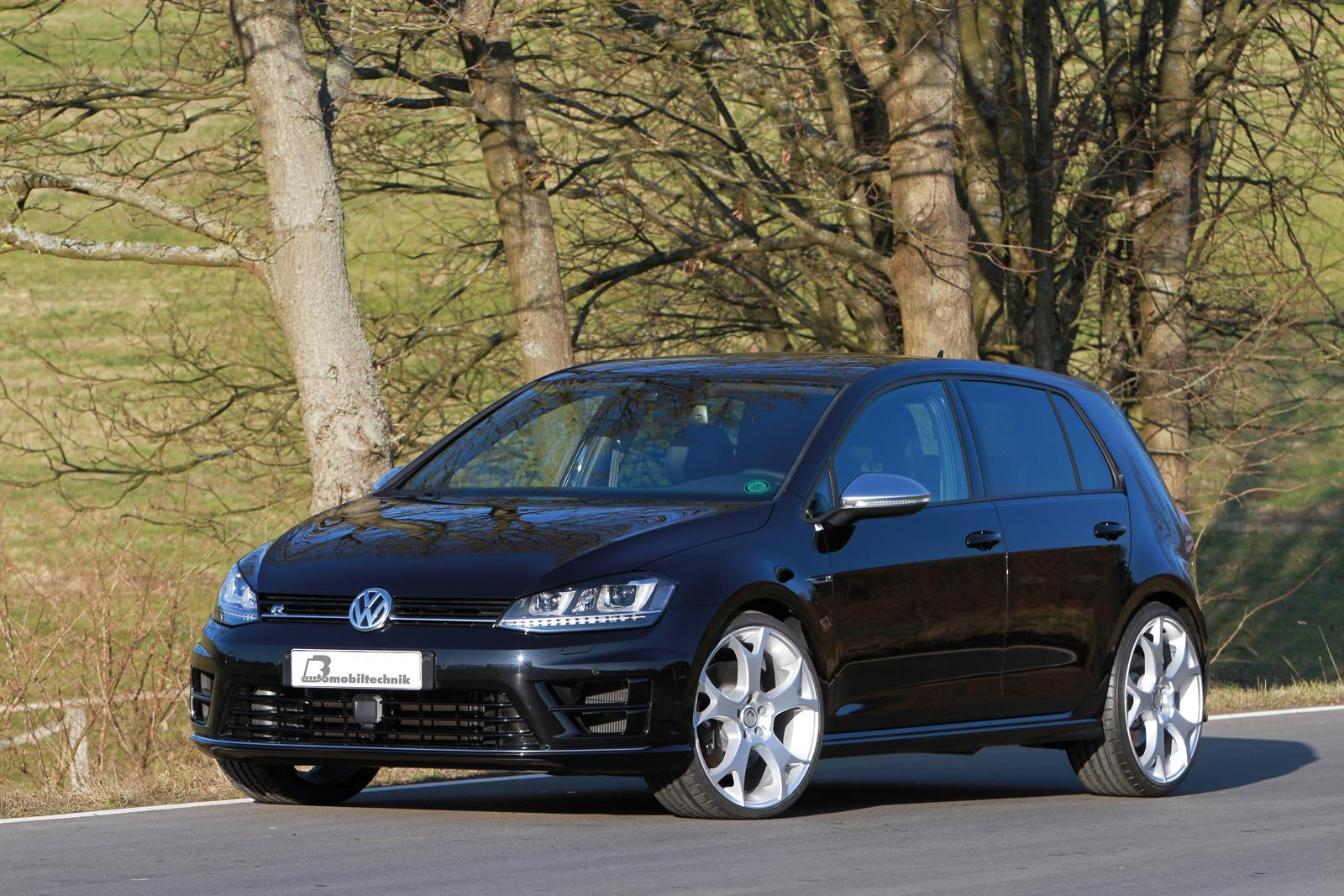 volkswagen golf vii r b b with 420 hp. Black Bedroom Furniture Sets. Home Design Ideas