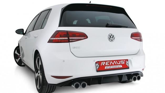 Remus VW Golf VII GTI 1 628x356 REMUS introduces Power Package for Golf VII GTI and Golf GTI Performance onto the market
