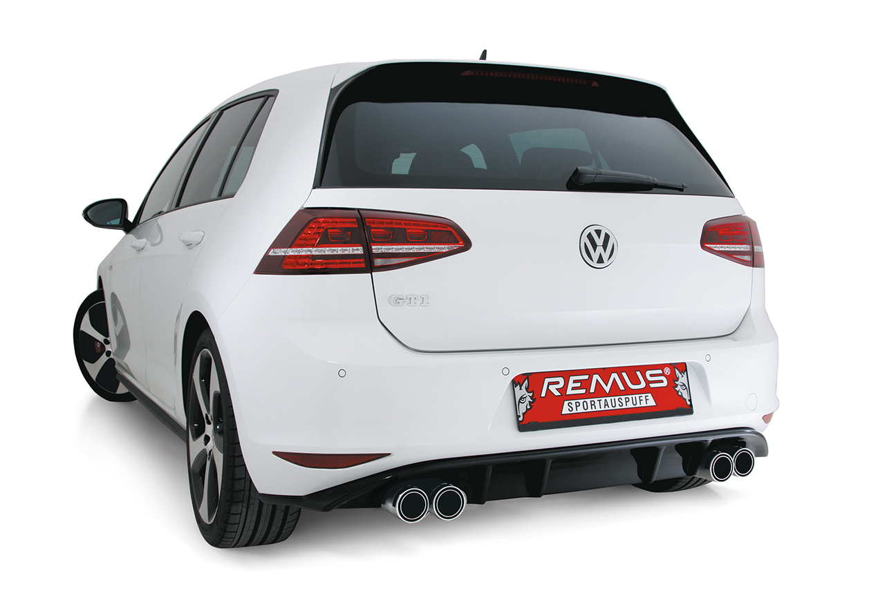 remus introduces power package for golf vii gti and golf gti performance onto the market. Black Bedroom Furniture Sets. Home Design Ideas
