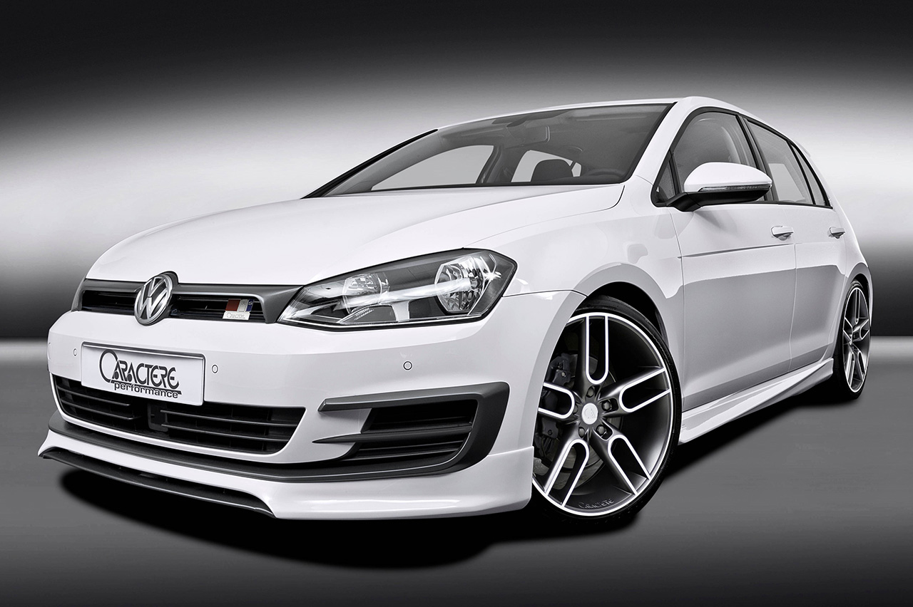 vw golf 7 bodykit from caractere vw tuning mag. Black Bedroom Furniture Sets. Home Design Ideas