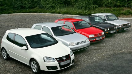 VW Golf GTI generations 430x244 1975 – 2008: The history of the VW Golf GTI