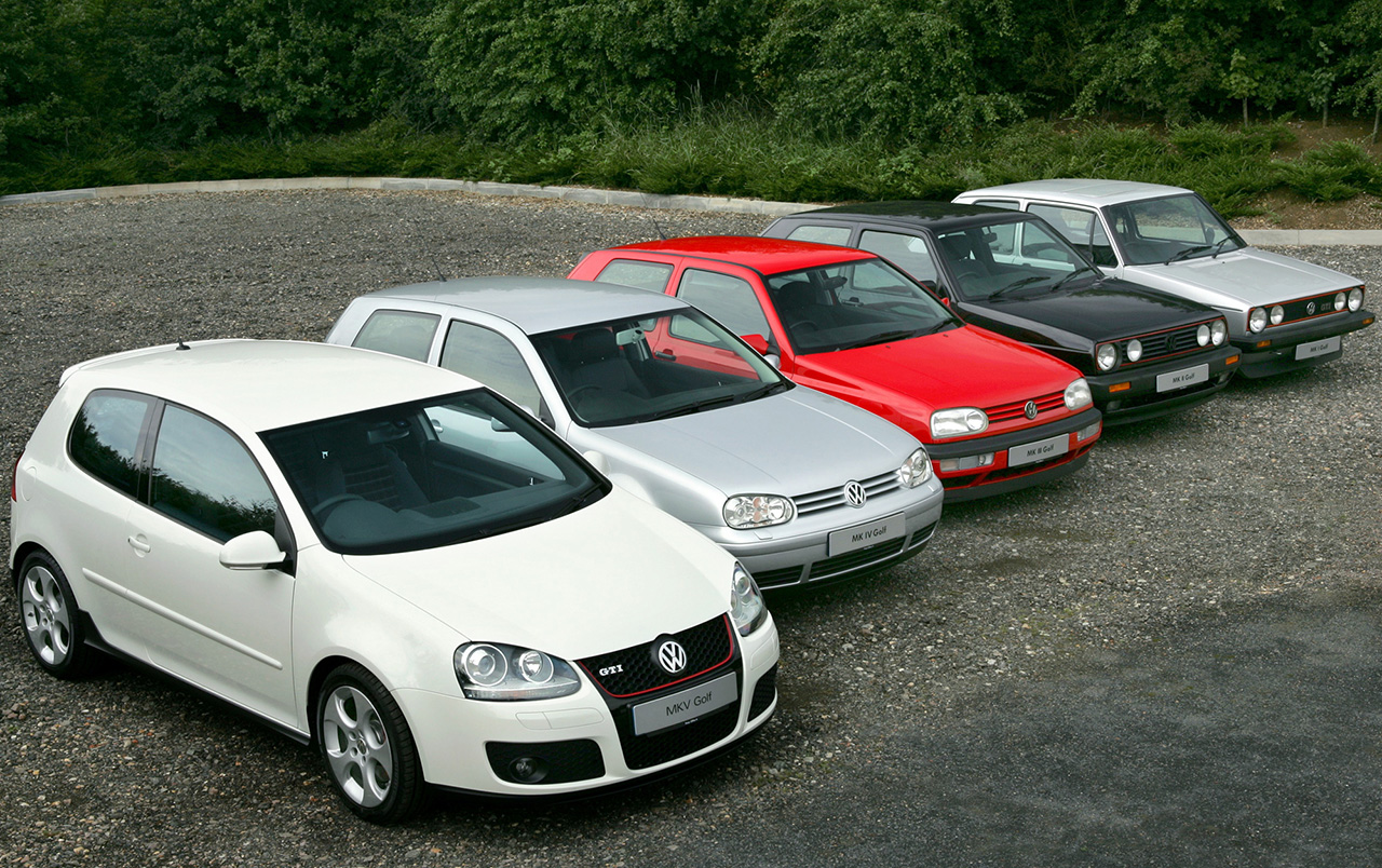 1975 2008 The History Of Vw Golf Gti