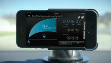 Volkswagen Accessories RaceApp 430x244 Performance indicator: The Volkswagen Accessories RaceApp