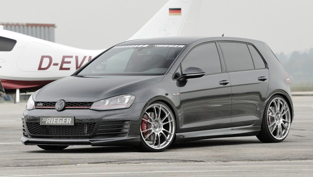new rieger tuning vw golf 7. Black Bedroom Furniture Sets. Home Design Ideas