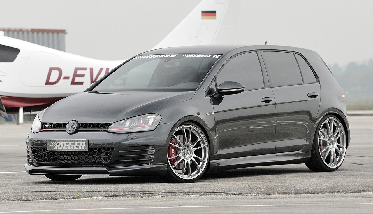 New Rieger Tuning Vw Golf 7