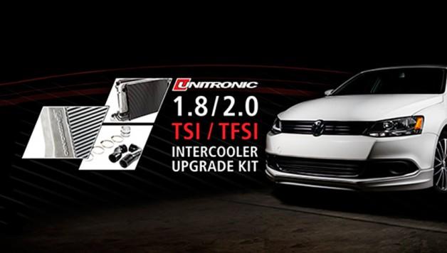 1.8 UNITRONICFMIC 628x356 Unitronic intercooler upgrade kit for 1.8/2.0 TSI/TFSI