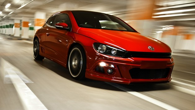 ABT Scirocco 06 628x356 Congratulations to the VW Scirocco and up to 310 hp from ABT