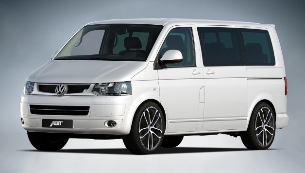 ABT T5 Aktionsmodell 01 628x356 The Volkswagen T5 promotion model by ABT Sportsline