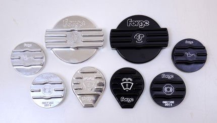 Forge Golf 7 Caps Mixed Set 430x244 Forge Launches Golf Mk7 Engine Cap Upgrades