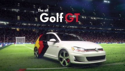 go germany gti 430x244 Volkswagen celebrates Germanys World Cup triumph with virtual Golf GTIs