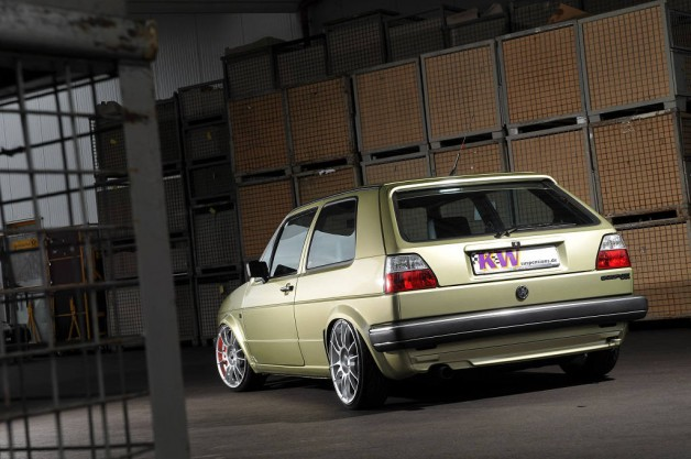 low KW VW Golf II 002 628x417 KW reduces prices for legendary scene cars