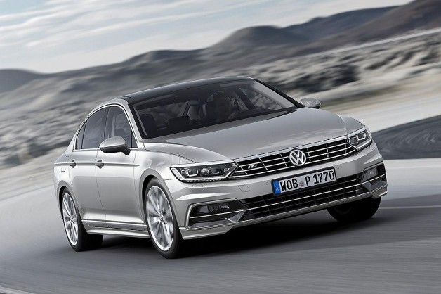 new vw passat 1 628x418 2015 Volkswagen Passat first images released