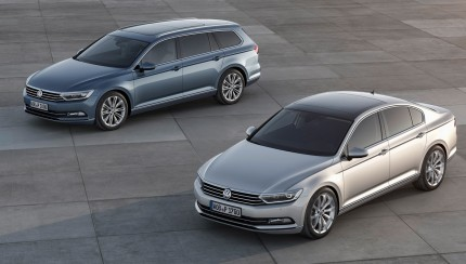 new vw passat 32 430x244 2015 Volkswagen Passat first images released