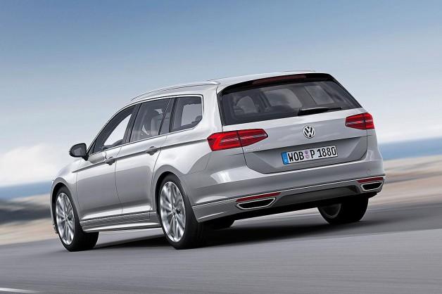 new vw passat 6 628x418 2015 Volkswagen Passat first images released