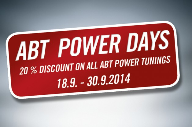 ABT Power Days 2014 English 02 628x417 ABT Power Days from 18th to 30th of September 2014