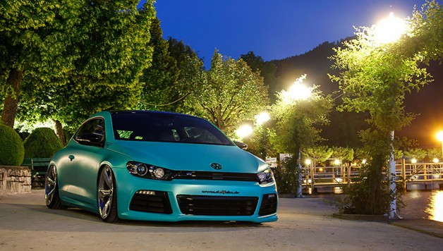 pwf folie matt caribbean metallic 4 628x356 Scirocco with Matt Caribbean Metallic wrap