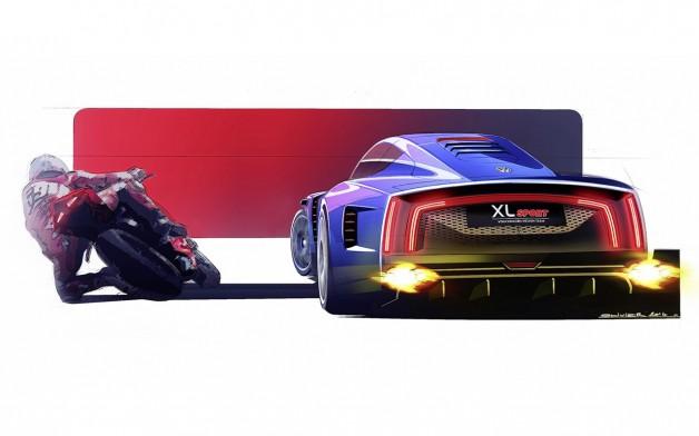 2014 Volkswagen XL Sport Concept 16 628x392 Volkswagen XL Sport Concept