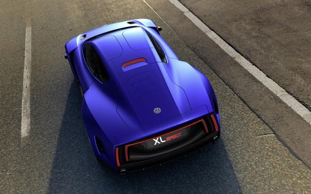 2014 Volkswagen XL Sport Concept 3 628x392 Volkswagen XL Sport Concept