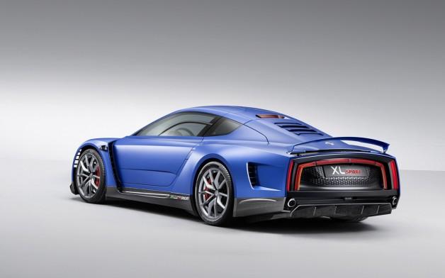 2014 Volkswagen XL Sport Concept 6 628x392 Volkswagen XL Sport Concept