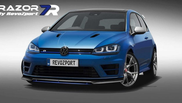 vw golf razor R 1 628x356 RevoZport upgrades the Volkswagen Golf GTI and R