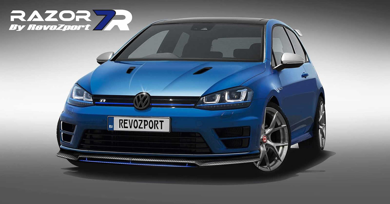 revozport upgrades the volkswagen golf gti and r. Black Bedroom Furniture Sets. Home Design Ideas