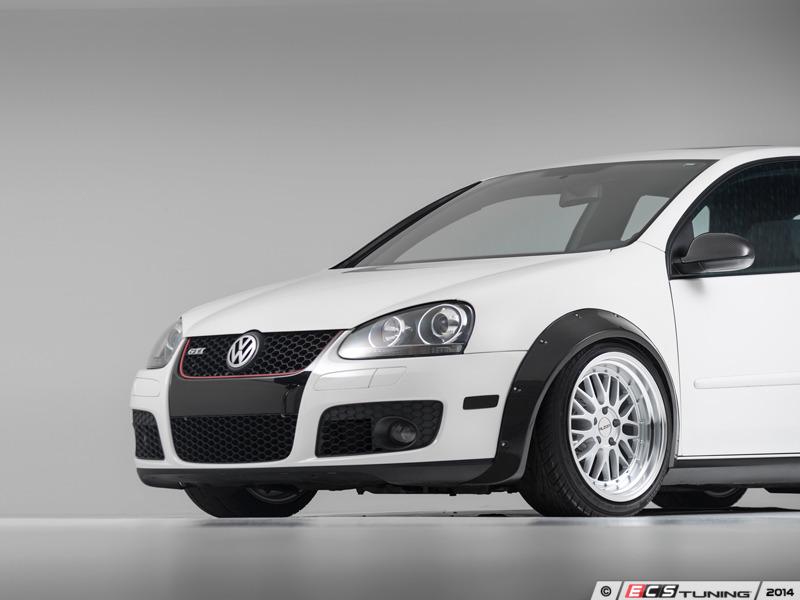 ECS Carbon Fiber Fender Flare Kit For VW Golf V GTI