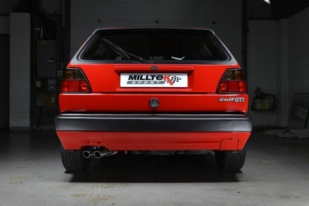 milltek vw golf 2 1 628x418 Milltek Classic Exhaust Solutions for VW Golf GTi MkII 8 valve