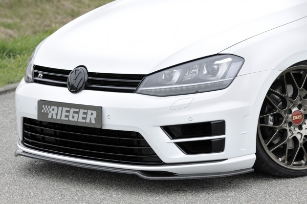 rieger golf7 1 628x418 VW Golf 7   carbon splitter