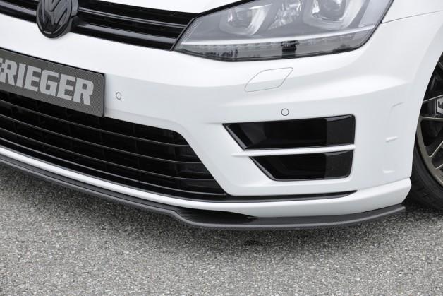 rieger golf7 2 628x419 VW Golf 7   carbon splitter