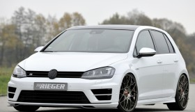 rieger golf7 3 280x161 VW Golf 7   carbon splitter