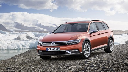 New Passat Alltrack 1 430x244 VW presents 4 show premieres at the 2015 Geneva International Motor Show