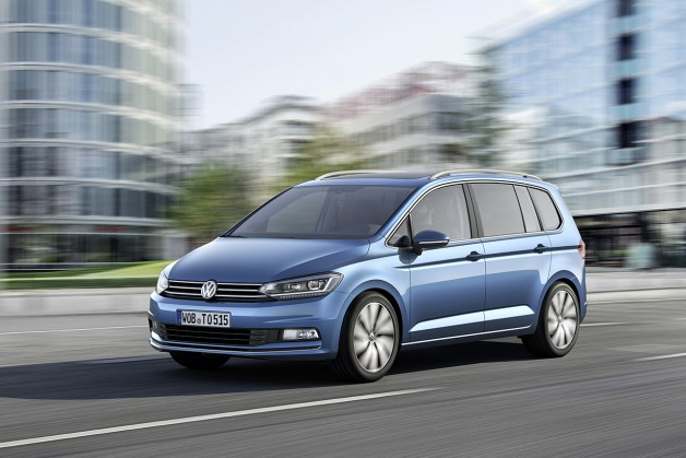 new Touran 1 628x419 VW presents 4 show premieres at the 2015 Geneva International Motor Show