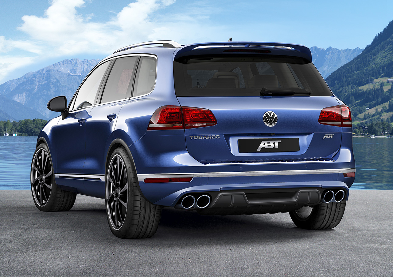 ABT Touareg 2015 002 The ABT Touareg with a 290 hp TDI