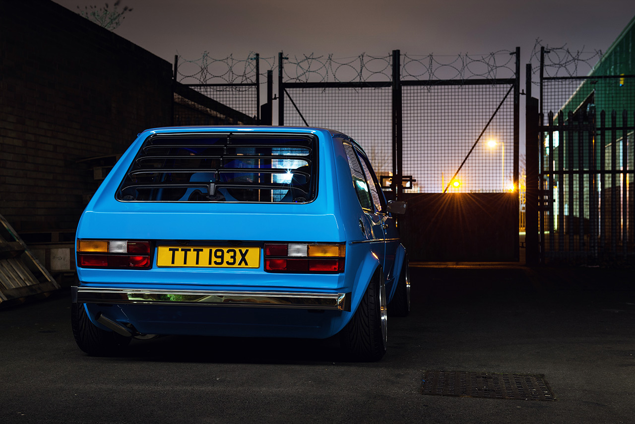 vw golf mk1 blue 4 Use The Force...VW Golf mk1